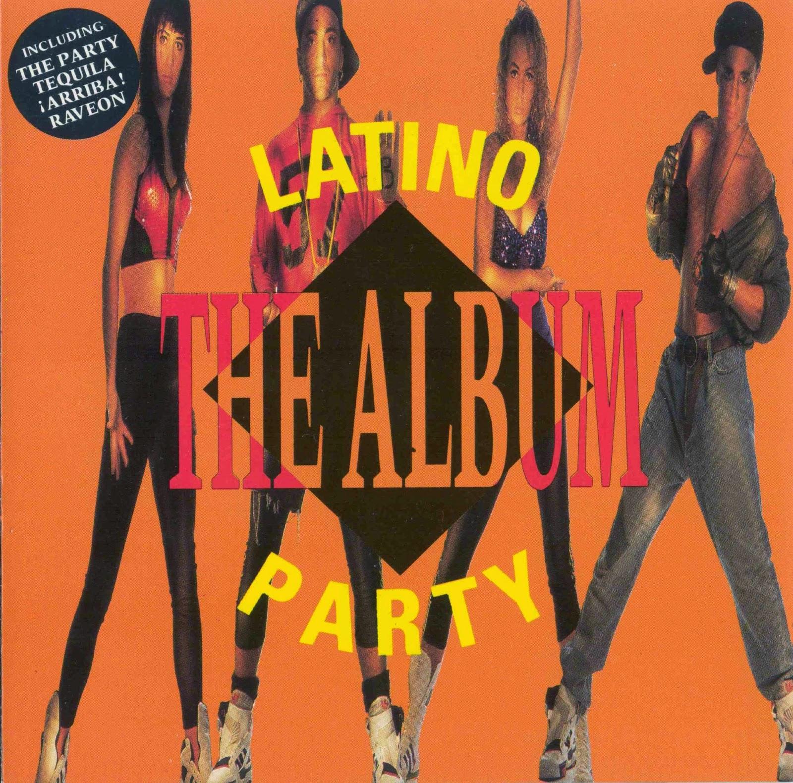 Retro disco hi nrg latino party the album 1990 for 90s house music albums