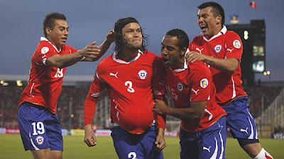 Chile 4 - 2 Peru