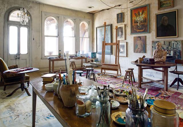 david bromley's studio