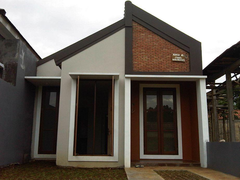 gambar rumah dengan konsep unik tampak depan
