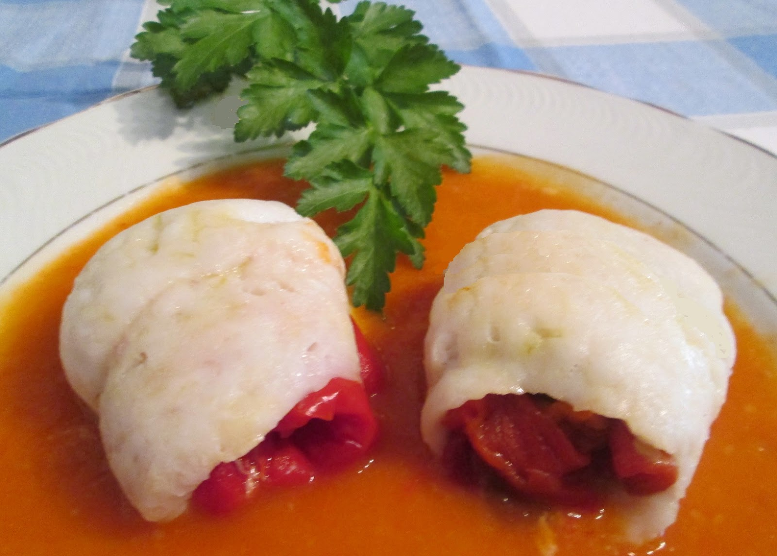 Cocinar no es dif cil pru balo rollitos de merluza en for Cocinar filetes de merluza
