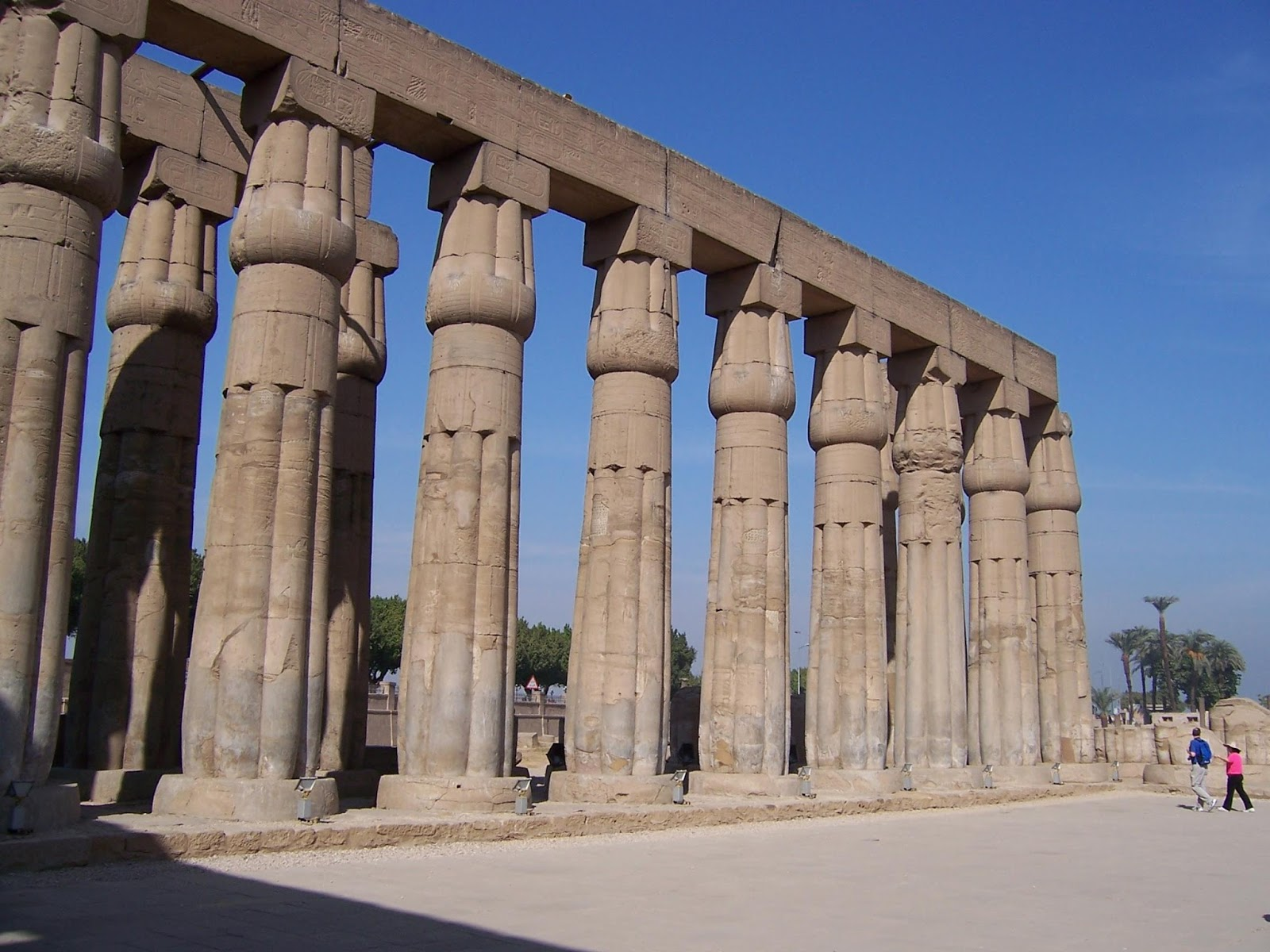 Geograf a historia y arte caracter sticas de la for Arquitectura de egipto
