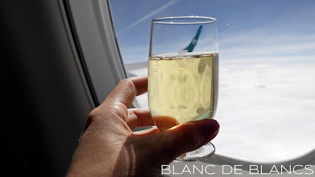 Air Dolomiti ja Marchese Antinori Brut Nature - www.blancdeblancs.fi