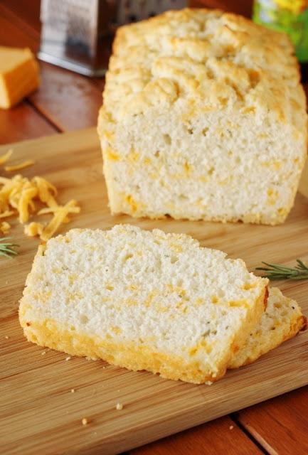 Cheddar-Rosemary Beer Bread