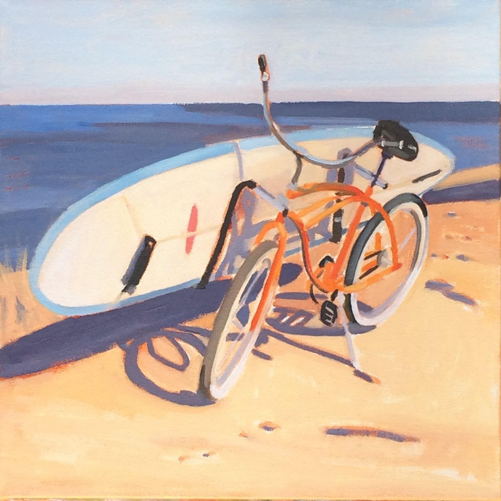 Katherine McGuire Artist Oil Paintings Of California