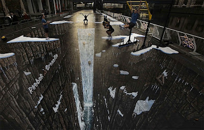 The World's Largest 3D Street Art Seen On www.coolpicturegallery.us