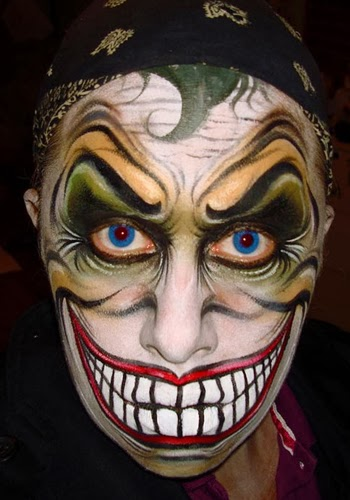 Joker Face Painting