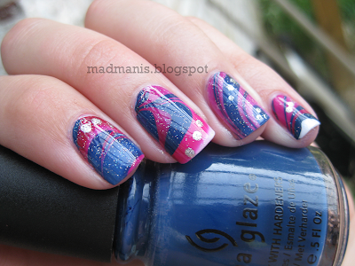 Memorial Day water marble