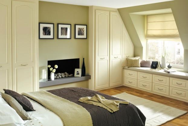 165 غرف نوم الوان فاتحة ومريحة بالصور