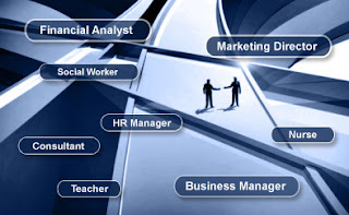 Job positions and career, master degree in finance, economic degree