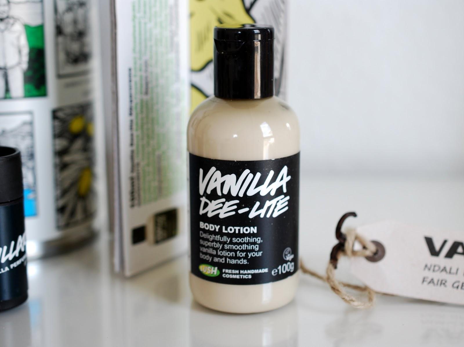 Lush Vanilla Dee-Lite Body Lotion
