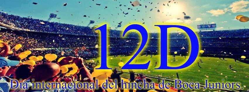 12/12 Feliz Dia Xeneizes del Mundo!