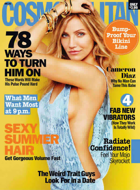 cameron diaz cosmopolitan photos. hot Cameron diaz cosmo inside