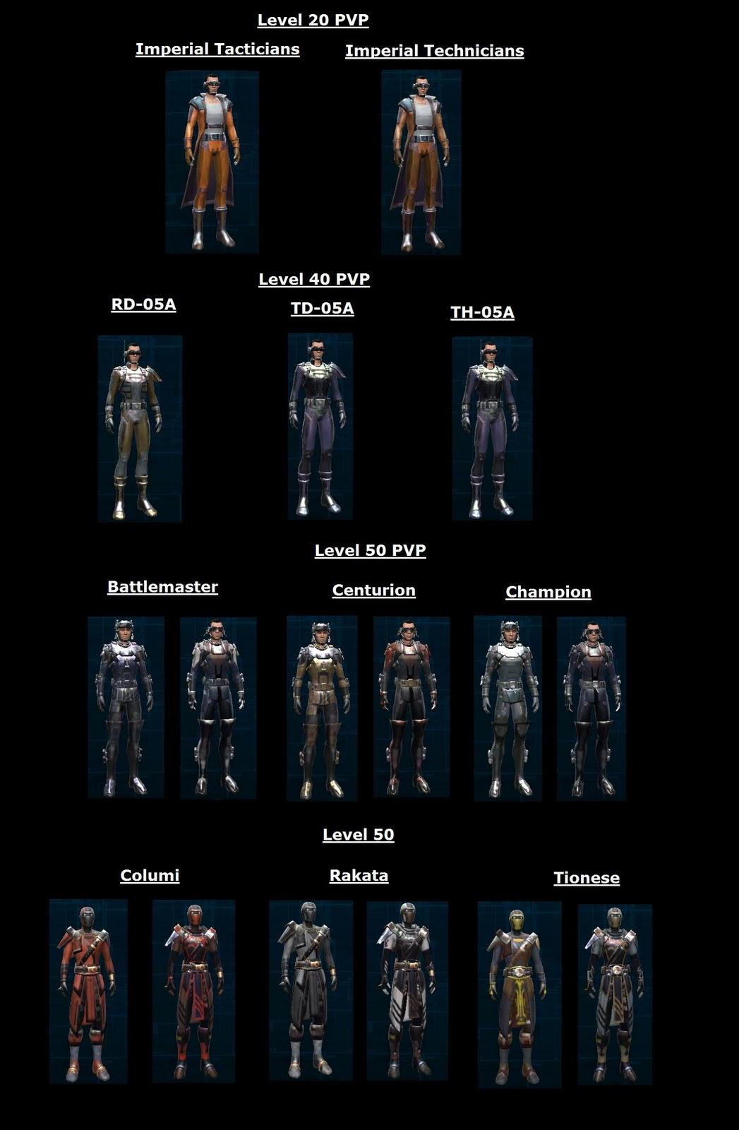 SWTOR Sith Juggernaut Armor