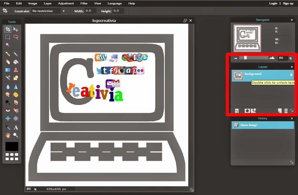 creativia: Cara Membuat Background Gambar Menjadi