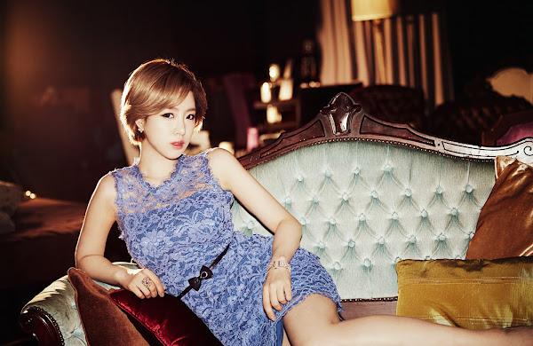 Eunjung T-ara Gossip Girls Concept