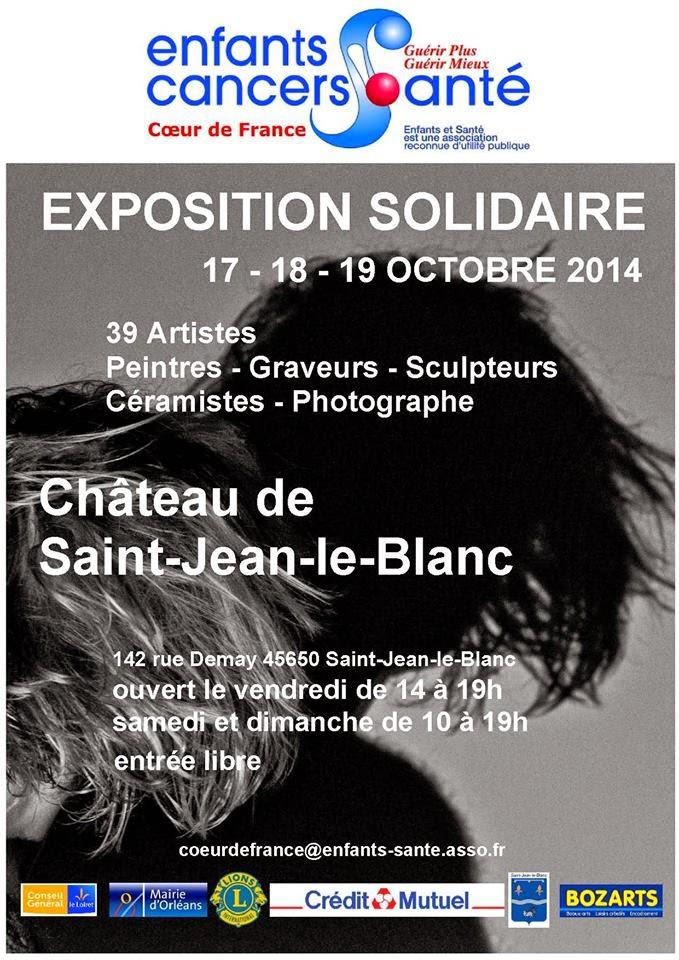CHATEAU DE SAINT JEAN LE BLANC : CAPTON PARTICIPE À L'EXPOSITION ENFANTS & SANTÉ