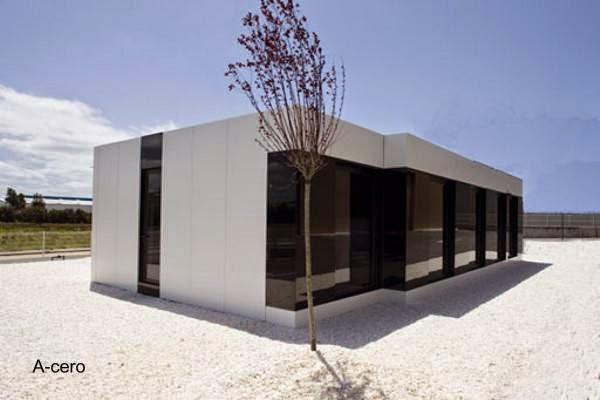 Vivienda prefabricada española - Arquitecto Joaquín Torres