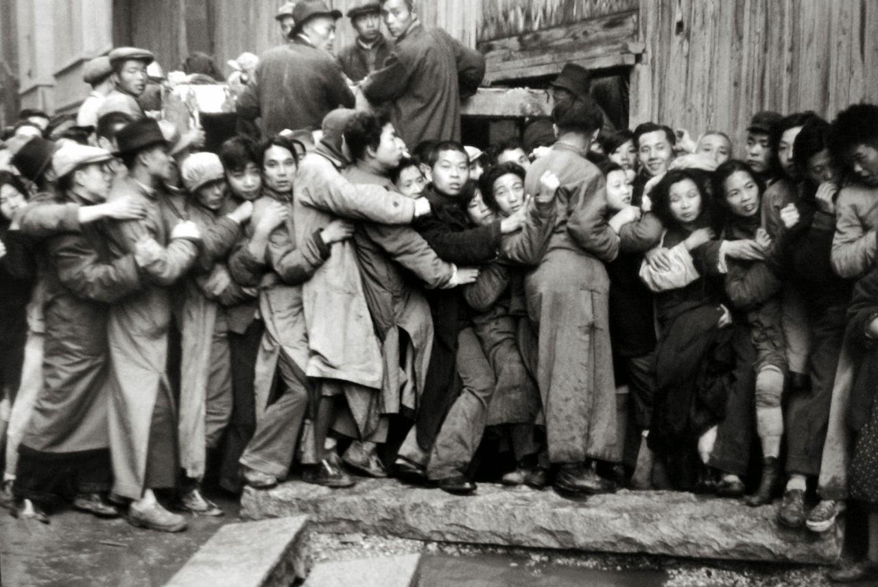 Henri Cartier-Bresson, Shanghai, 1948 - Cultea