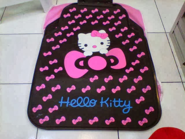 Karpet mobil hello kitty