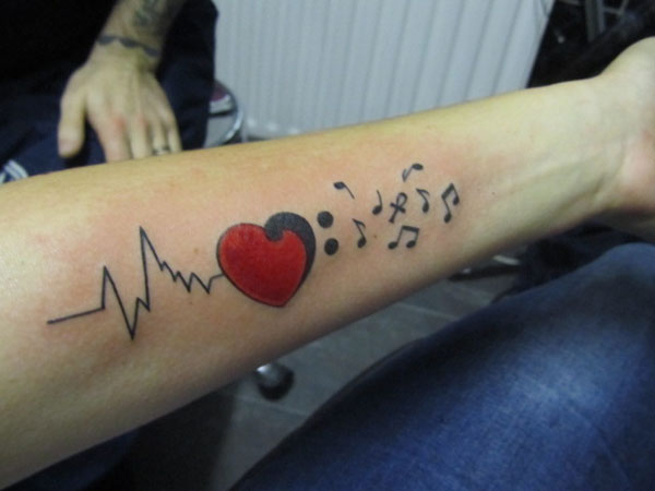 stupid heart rhythms more bad ekg tattoos. Black Bedroom Furniture Sets. Home Design Ideas