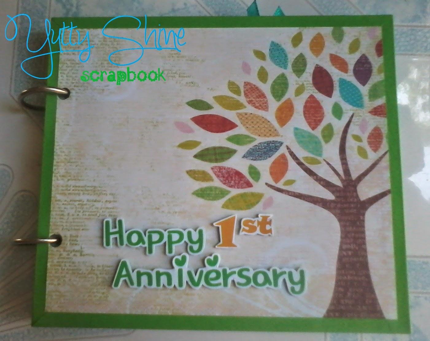 Yutty shine: happy 1st anniversary