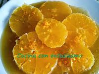 Naranjas al caramelo