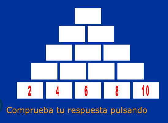 Completa la pirámide