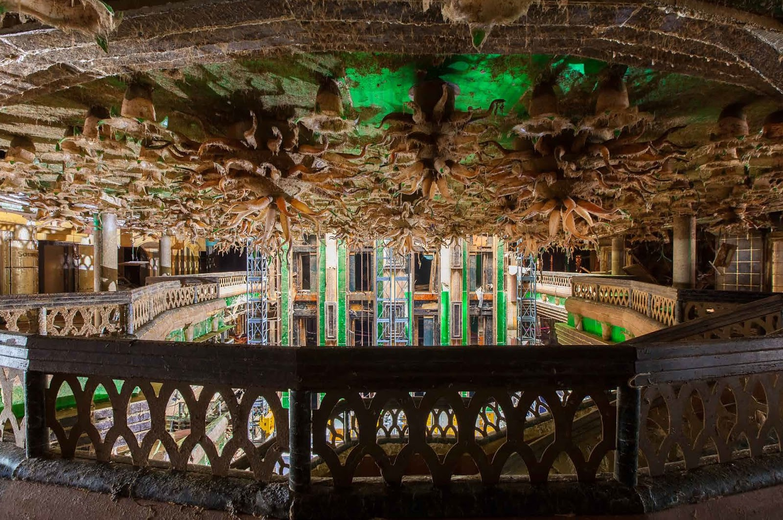 Deserted Places: Inside Costa Concordia cruise ship
