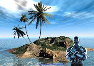 Wallpaper of Vin Diesel Action Movie Actor Chronicles of Riddick Movie at 3D Island Desktop Wallpaper
