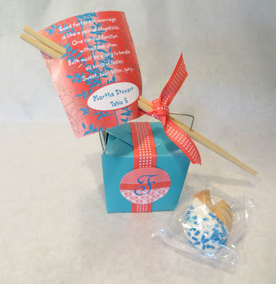 Fortune Cookie Wedding Favors