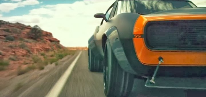 Chevrolet Camaros & Corvette Featured In Transformers 4 Trailer