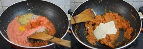 how to make Mushroom Matar Paneer
