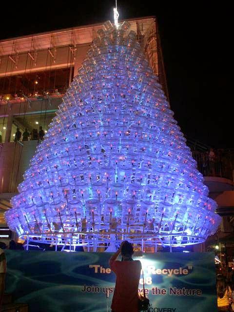 Arboles de Navidad con Materiales Reciclados, II Parte