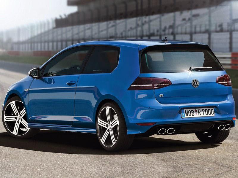 novo Volkswagen VW Golf R - fotos traseiro de 2014