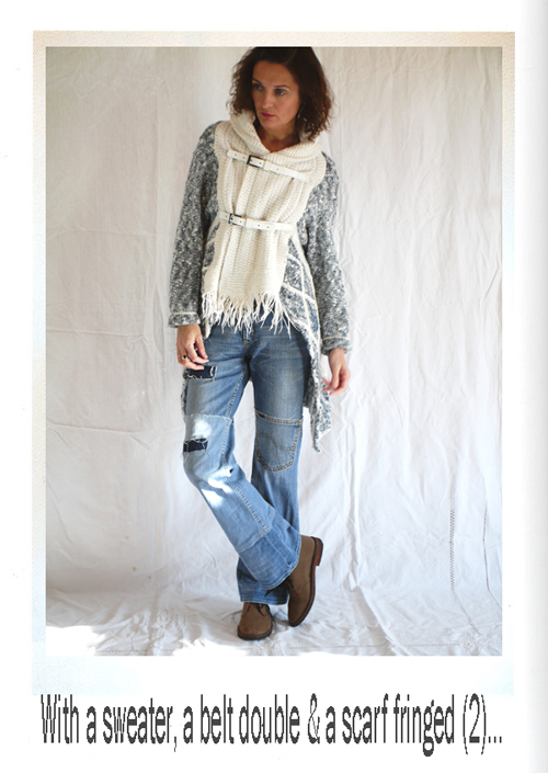 Куртка из старых свитеров своими руками 89