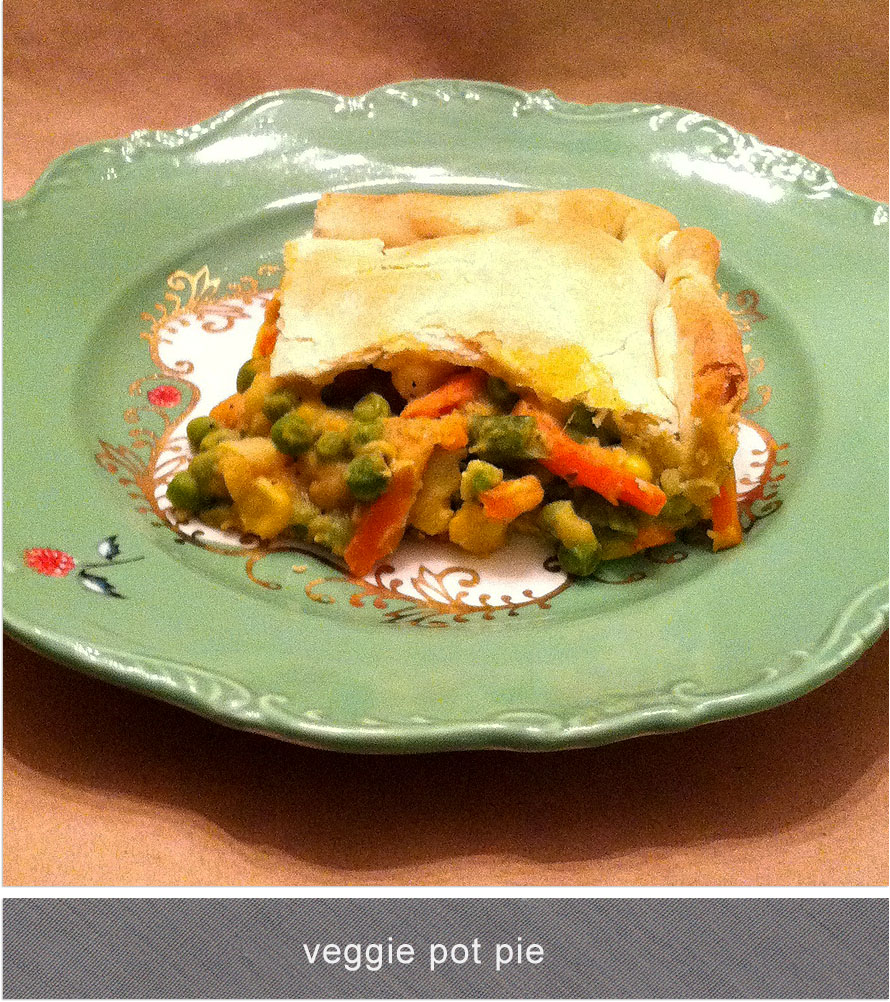 mystics + mint: quick + easy veggie pot pie