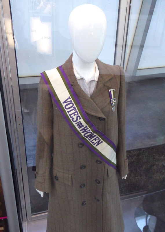 Edith Ellyn Suffragette film costume