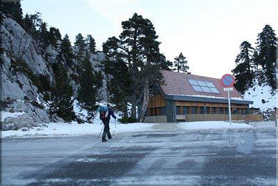 Estación de esquí nórdico ''La Contienda''
