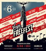 concierto hoy en vivo online por internet hora virgin freefest 2012