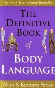 Portada británica de El lenguaje del cuerpo, de Allan Pease y Barbara Pease
