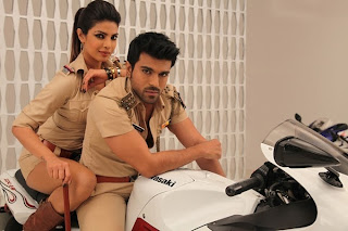 Zanjeer and Toofan movie working stills, Priyanka Chopra hot in Zanjeer and Toofan, Ram Charan Zanjeer and Toofan first look images