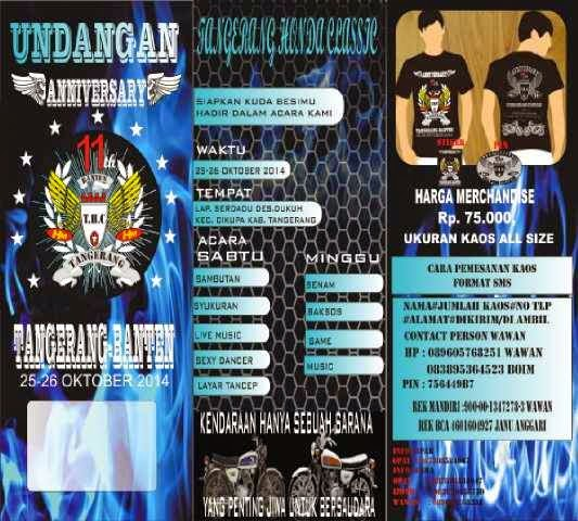 Acara CB Tangerang Banten