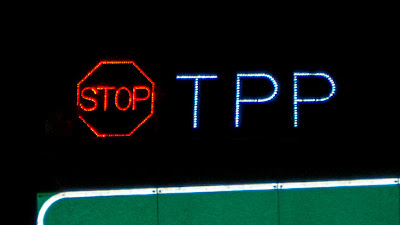 STOP TPP - Trans-Pacific Partnership Agreement