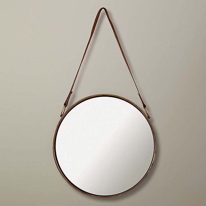 hanging circle mirror inspiration