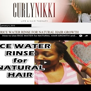 Rice Water Rinse for Hair CurlyNikki DiscoveringNatural