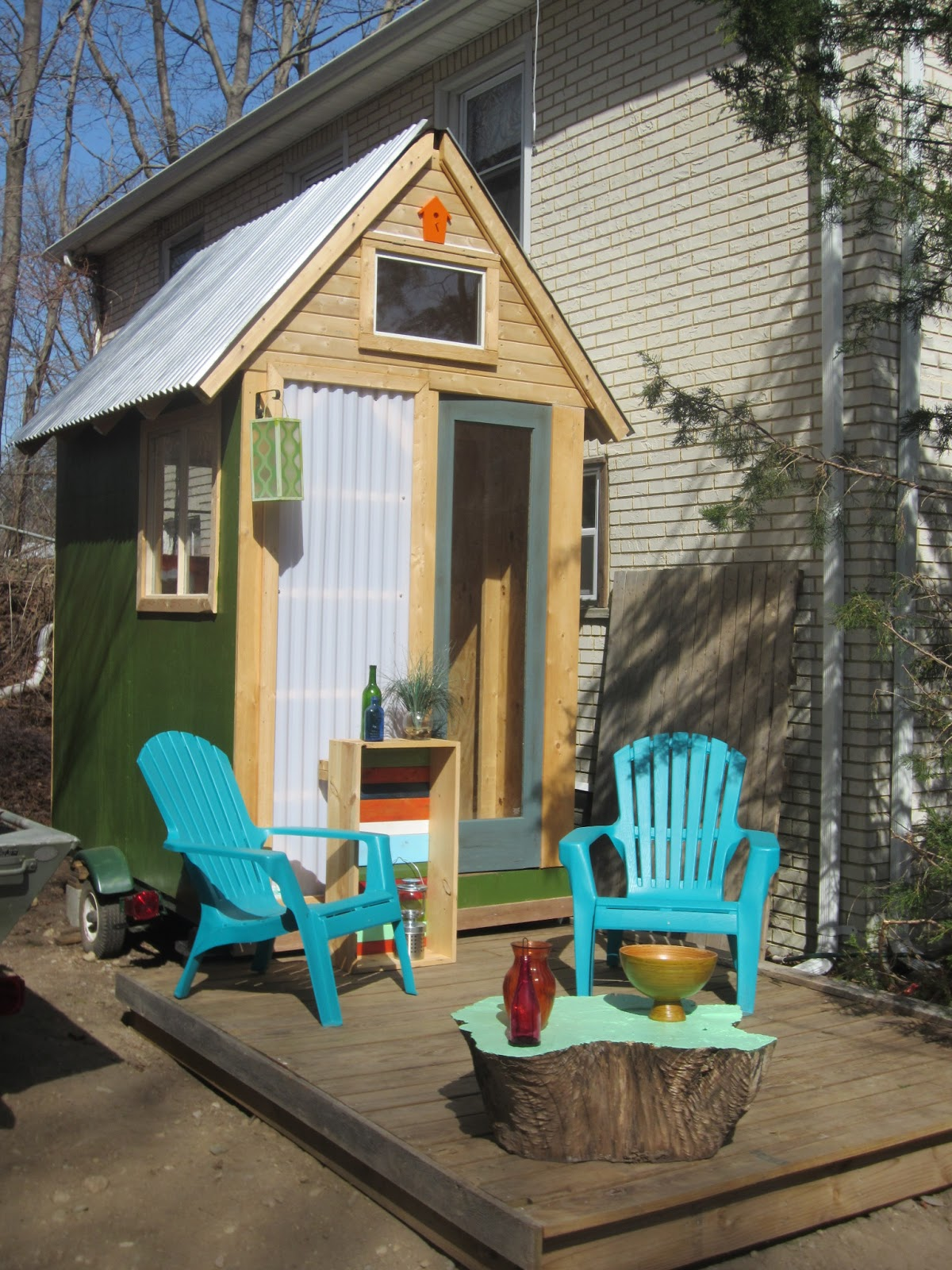 relaxshacks com a tiny tiny tiny house on wheels built at a tiny tiny tiny house on wheels built at deek s ma workshop