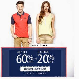 Buy American swan Clothing, Footwears; Accessories Flat 60% + 30% off from Rs. 200