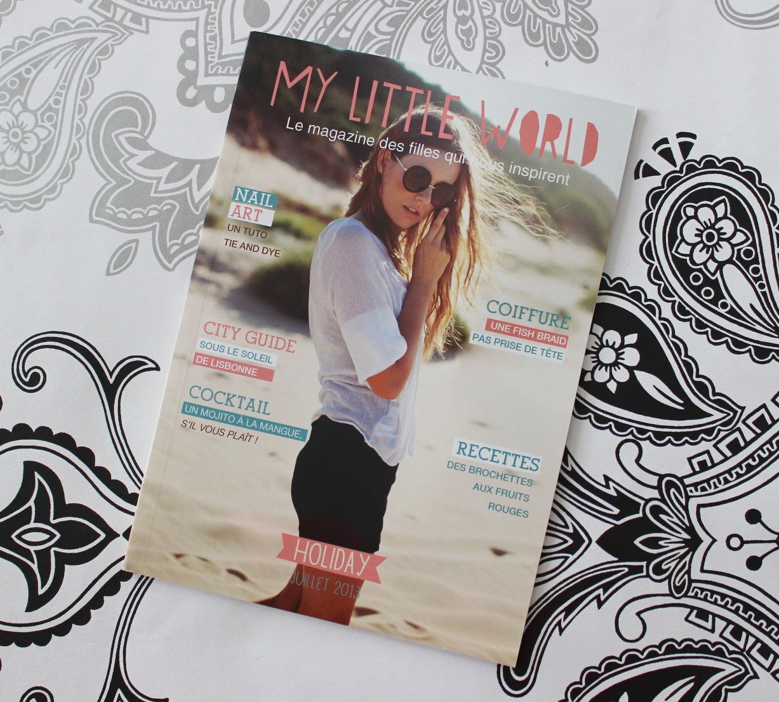 My little box beauty box magazine
