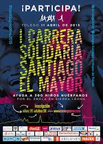 I Carrera Solidaria Santiago el Mayor, en Toledo